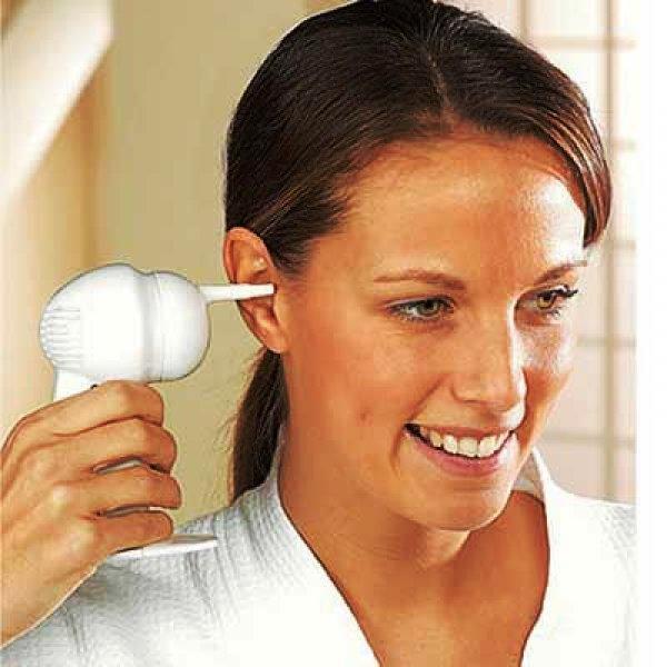 Aspirador com a função de limpeza de ouvidos