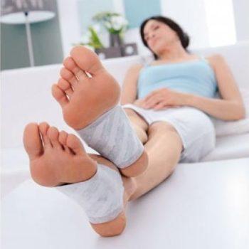 Foot Patchs desintoxicantes 10 unidades