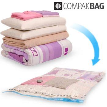 Bolsa para Roupa de Vácuo Compak Bag
