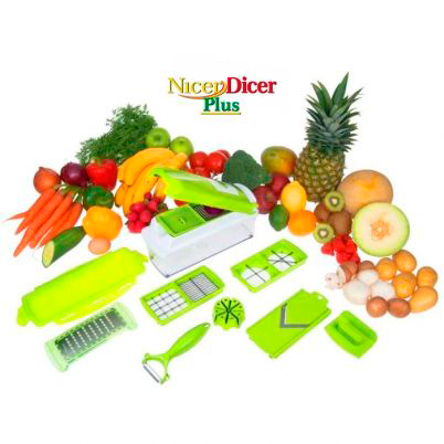 NICER DICER PLUS – Cortador de Legumes
