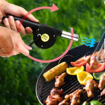 Ventilador Manual Para Barbecue