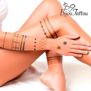 Tatuagens Adesivas Bijou Tattou