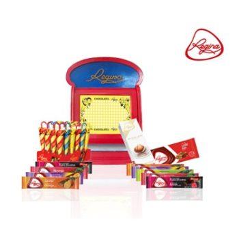 Caixa de Furos de Chocolate Regina