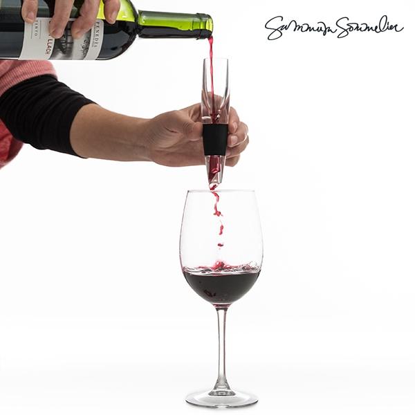Decantador mágico de vinho