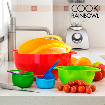 Utensílios de Cozinha Cook Rainbowl