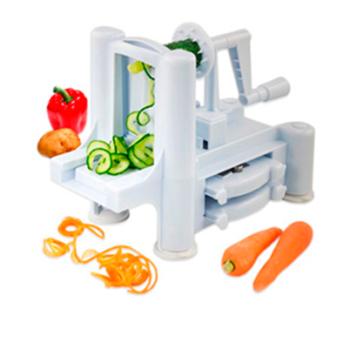 Cortador de Fruta e Legumes Espiral