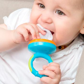 Alimentador e Mordedor para Bebé (3 peças)