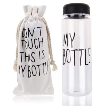 Garrafa Don't Touch My Bottle