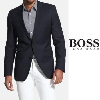 Blazer Hugo Boss Azul