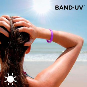 Pulseira Indicadora de Raios UVA Band·UV